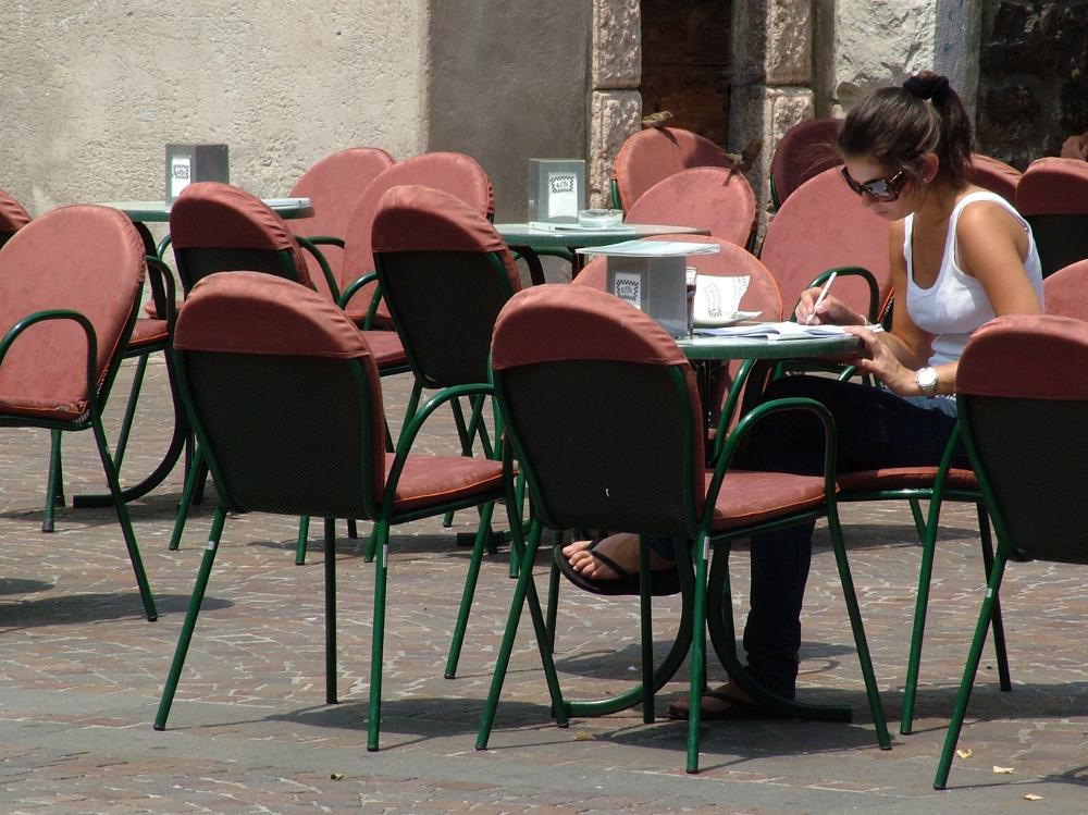 Kávézás - Fotó: Barna Béla