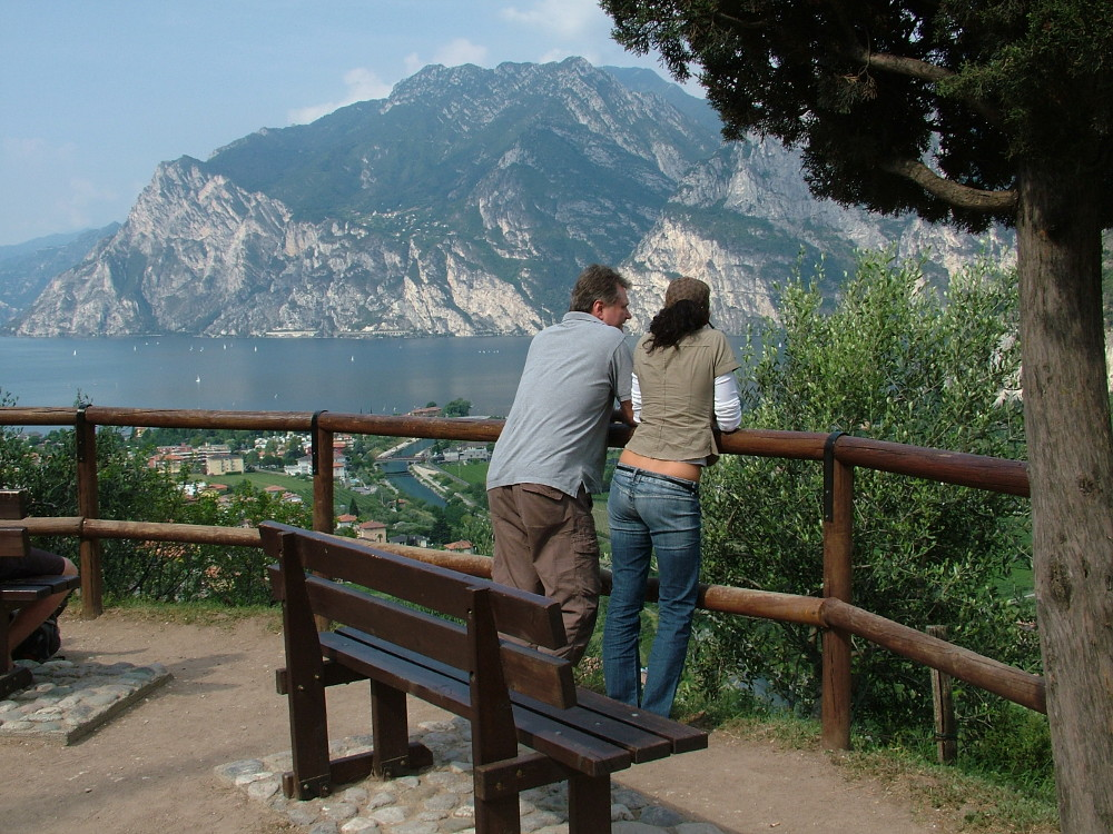 A Garda Torbole mellett - Fotó: Barna Béla
