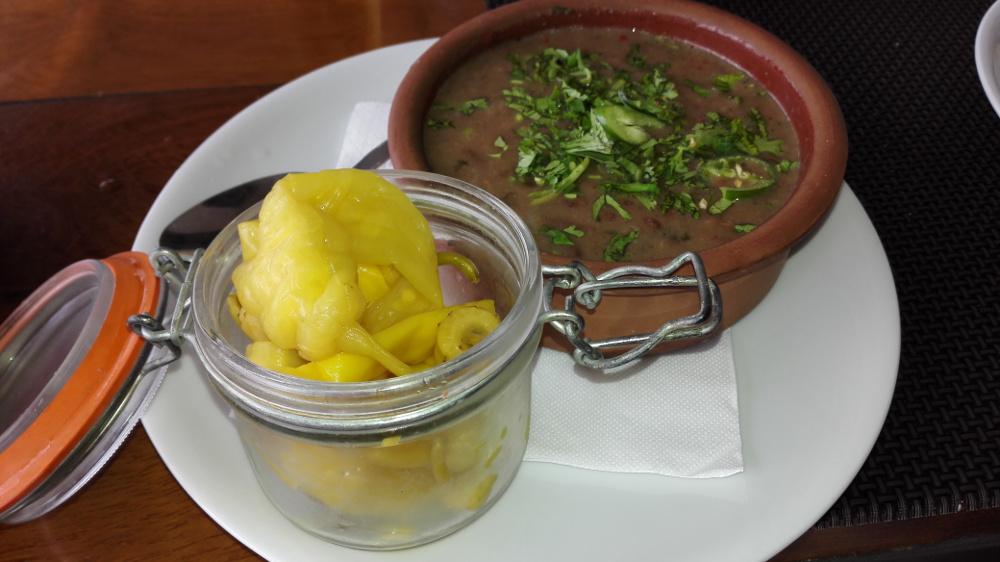 Ezt az étket is a Mtatsminda tetején ettem - Fotó: Barna Béla