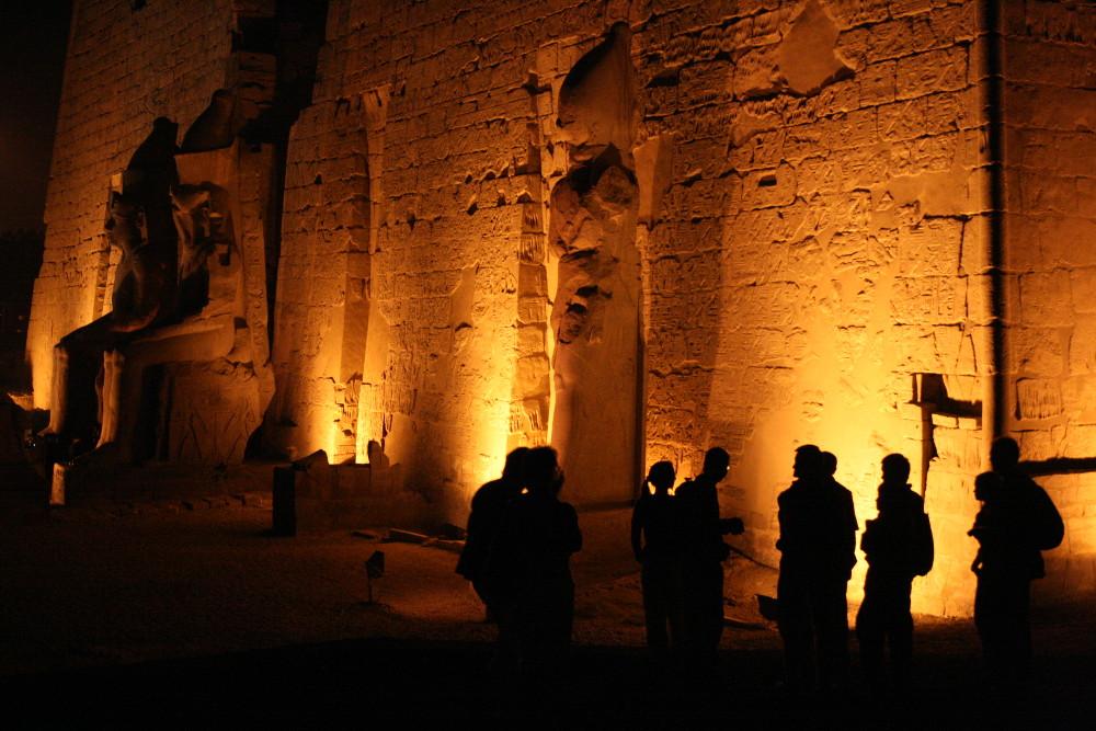 Luxor éjjel - Fotó: Barna Béla