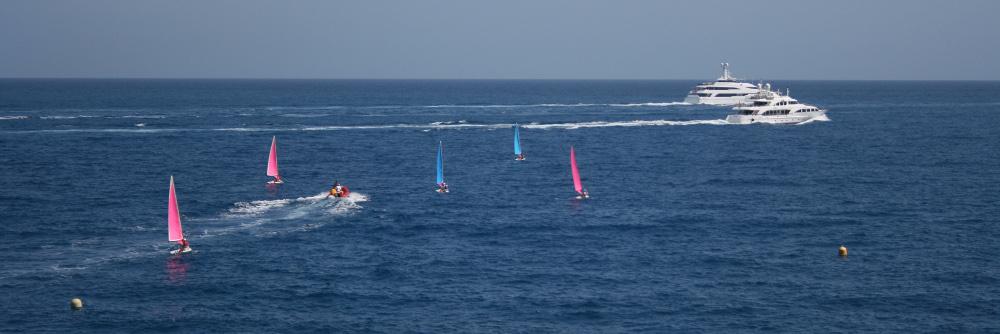 Monaco mellett a tenger - Fotó: Barna Béla