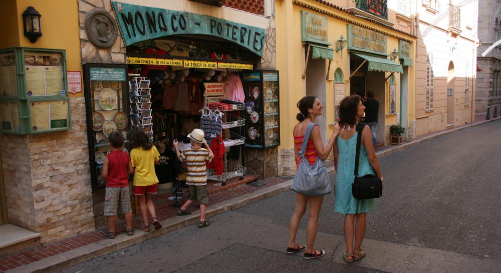 Monaco sétálóutca - Fotó: Barna Béla