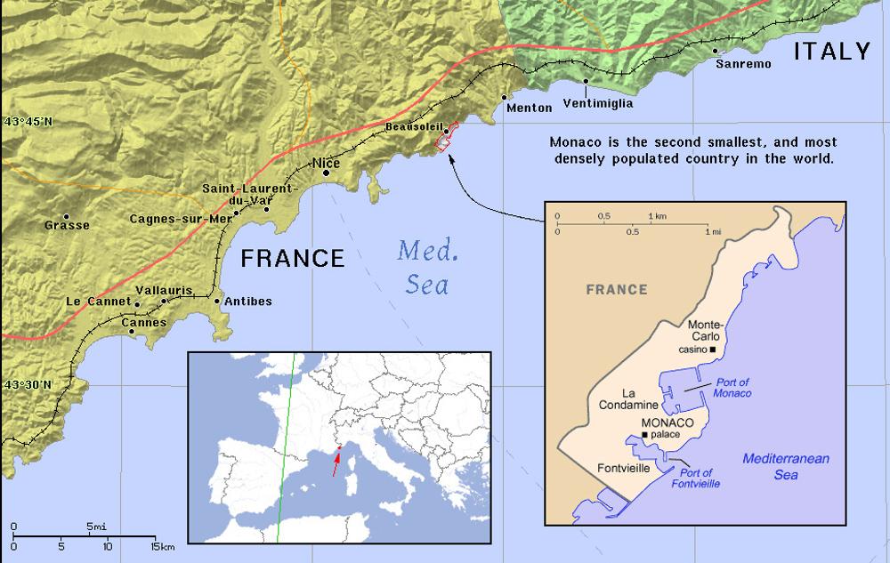 Monaco helyzete