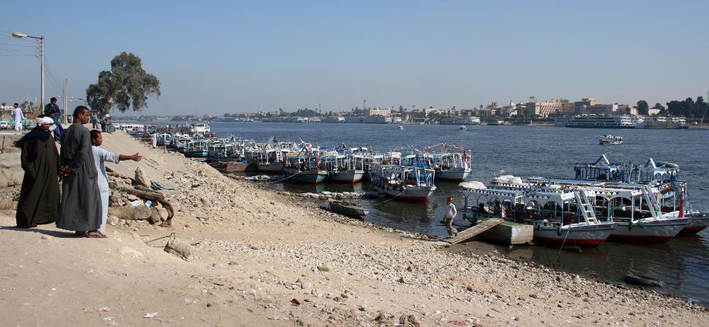 A Níluson át - Fotó: Barna Béla
