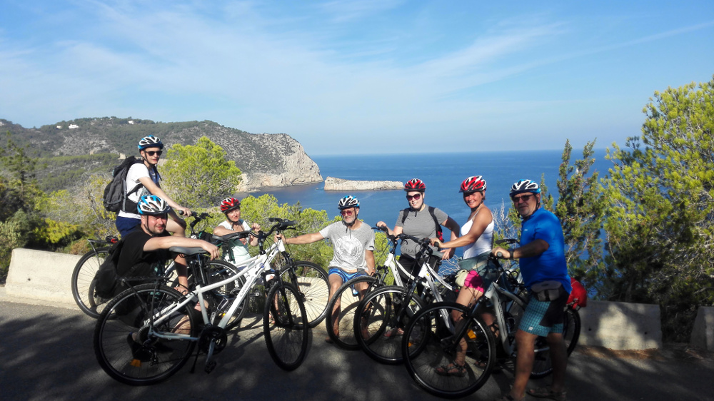 Brigás csapattal Ibiza északi öbleinél - Fotó: Barna Béla