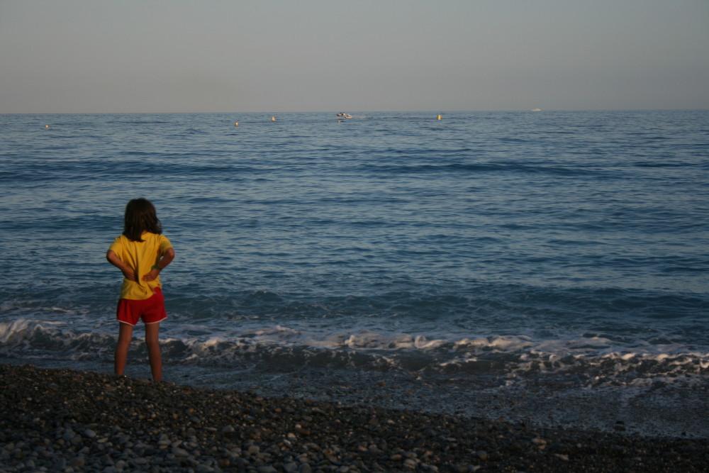 Nizza tengerpartja - Fotó: Barna Béla