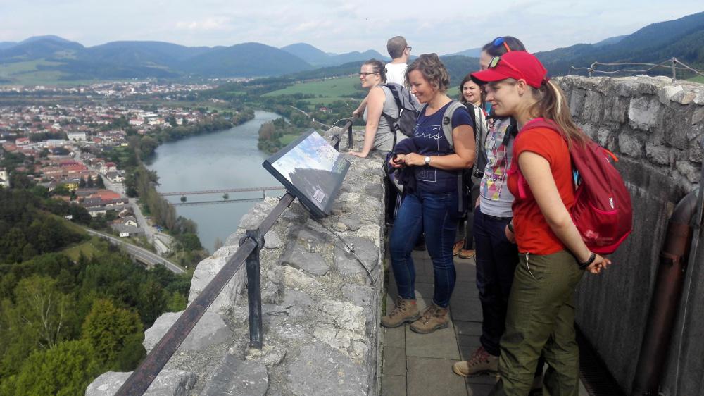 Kilátás a várból - Fotó: Barna Béla