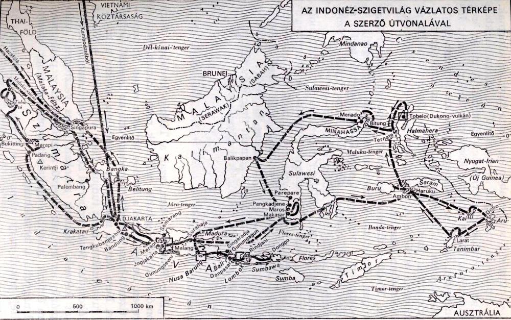 Balázs Dénes útja Indonéziában
